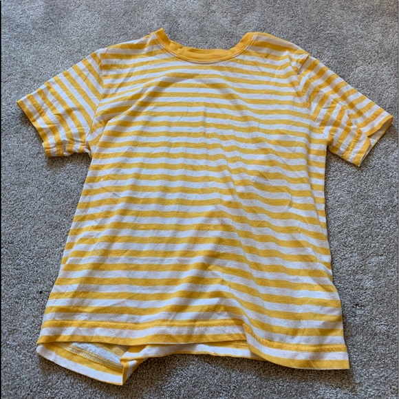 PacSun Tops - White and yellow short sleeve T-shirt